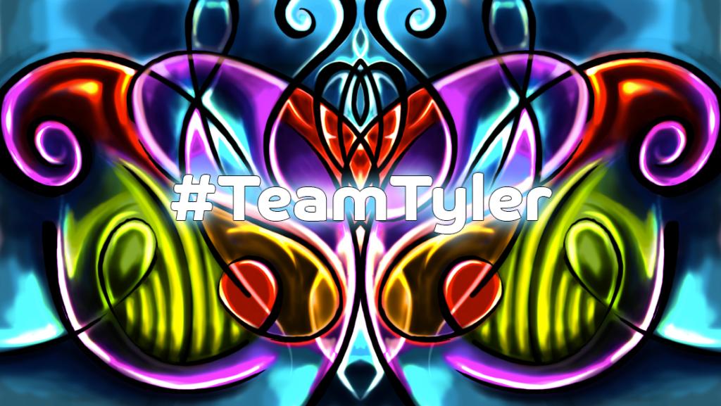 #TeamTyler Butterfly